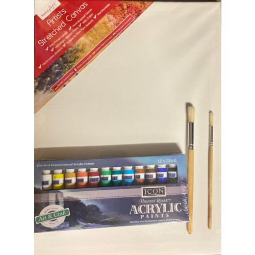 Acrylic Painting Starter Kit 2