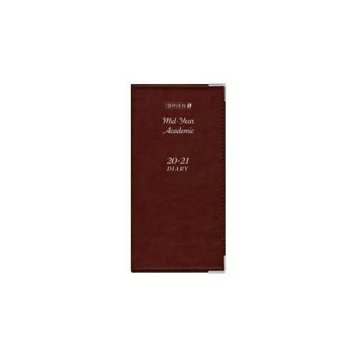 O'Briens Pocket Week to View - Deluxe - Wiro Bound Mid Year Diary 2020-21