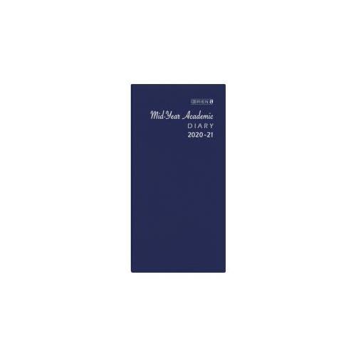 O'Brien Academic Pocket Diary 2020-21