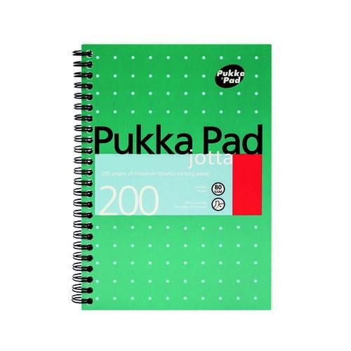 Pukka Pad Ruled Wirebound Metallic Jotta Notebook 200 Pages A5