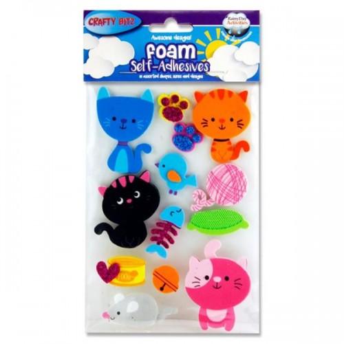 3D Foam Stickers - CAT