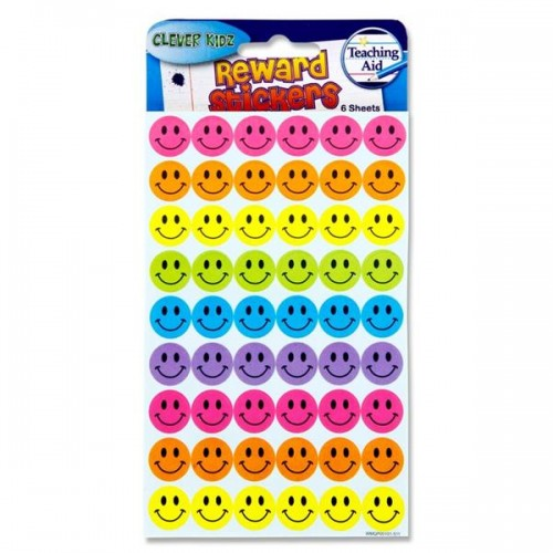 Reward Stickers - Smiling Faces