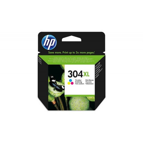 HP N9K07AE 304XL TRI COLOR INK CARTRIDGE