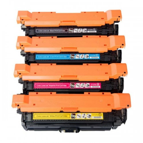 Compatible HP Black Toner Cart CP4025/CP4525