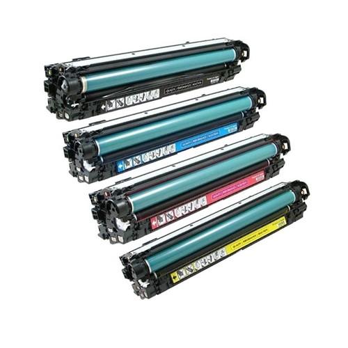 Compatible HP Colour Laserjet CP5525 Magenta Toner CE273A