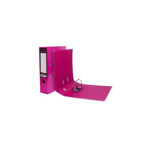 A4 Pukka Brights Pink Leverarch File Pk10