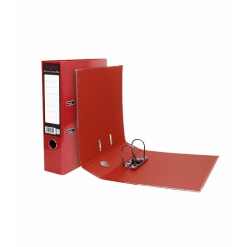A4 Pukka Brights Red Leverarch File Pk10