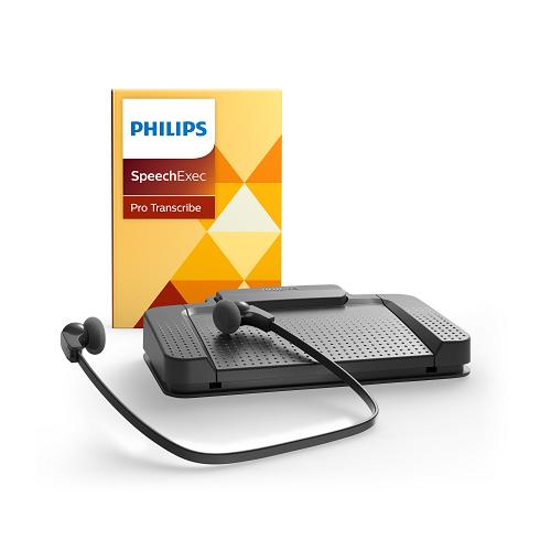 Philips Speech Exec Pro Transcription Set