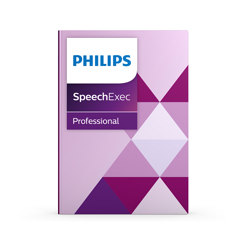 SpeechExec Pro Transcribe SW with Speech Recognition - SW on USB Stick