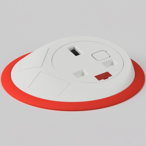 Pixel In-Surface Power Module - Red and White