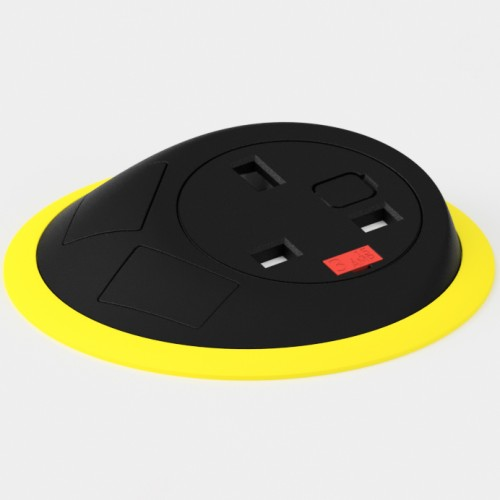 Pixel In-Surface Power Module - Yellow and Black