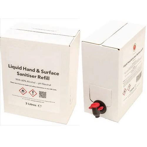 Liquid Sanitiser 3Litre With Tap