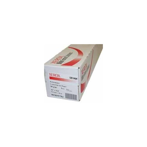Xerox Wide Format Inkjet Paper Uncoated 610mm x 50M A1 Size 90gsm Pack of 4 Rolls