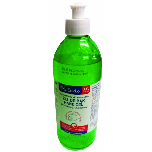 Melado 70% Alcohol Hand Sanitiser Gel 500ml