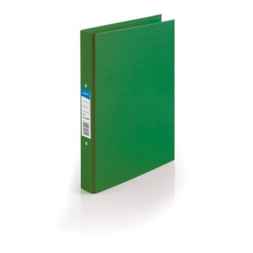 Initiative Polypropylene Coated Board 2 Ring Binder 25mm Capacity A4 Green