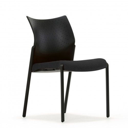 Trillipse Multipurpose Chair in Black Fabric