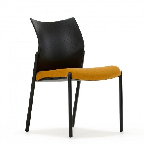 Trillipse Multipurpose Chair in Solano Yellow Fabric