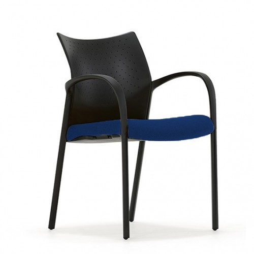 Trillipse Multipurpose Chair with arms in Hobbit Blue Fabric