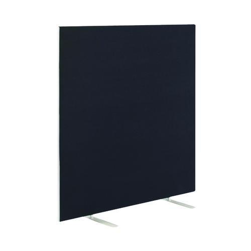 Floor Standing Screen W1200 x H1500 in Black Fabric