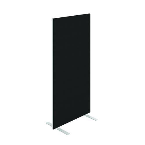 Floor Standing Screen W800 x H1200 in Black Fabric