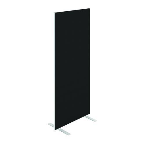Floor Standing Screen W800 x H1800 in Black Fabric