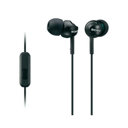 Sony Comfortable, secure-fitting silicone earbuds.n-line remote included.Y-type cord, 1.2m length