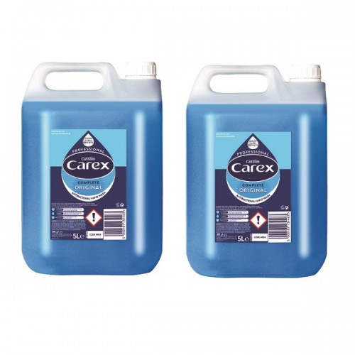Carex Professional Anti-bacterial Handwash 5Litre (Pack of 2)