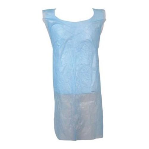 BLUE PLASTIC APRONS FLAT PACK