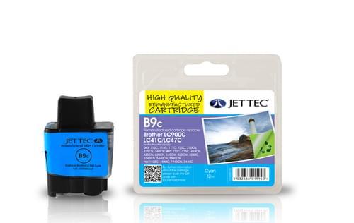 Jettec Compatible Brother LC900C Cyan Inkjet Cartridge (B9C)