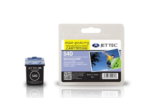 Jettec Remanufactured Samsung SAMSUNG M40 Inkjet Cartridge (S40)