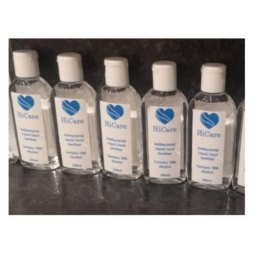 100ML Hand Sanitiser (5 Pack)