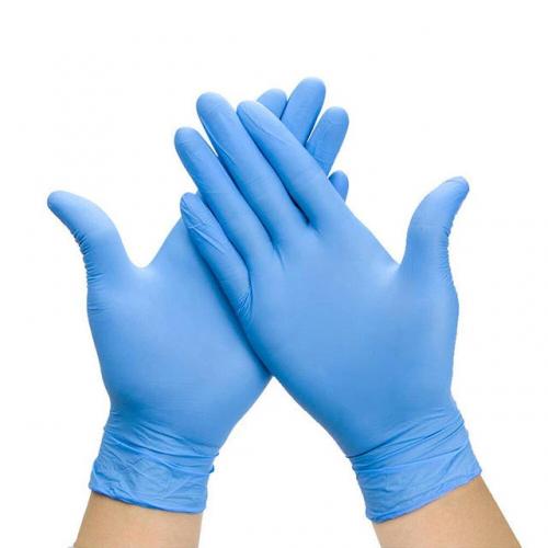 Stretch Nitrile Cobalt Blue Powder Free Gloves (Box of 200) - Medium