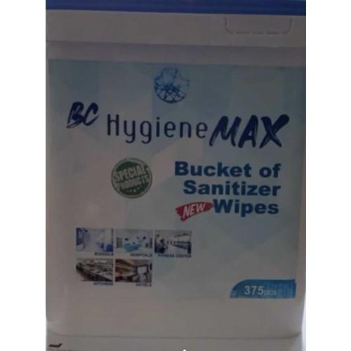 Sanitiser Wipes 75% alcohol (400 wipes per tub)
