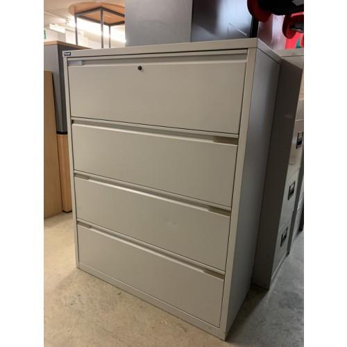 Side Filer - 1280mm High x 1000mm Width x 480mm Depth. 1 In Stock