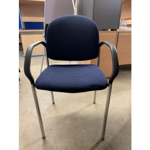 Reception/Visitor Chair, With Arms. 3 In Stock