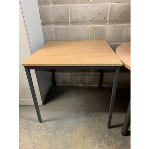 Table, In Limed Oak Finish - 750mm Width x 750mm Depth. 1 In Stock