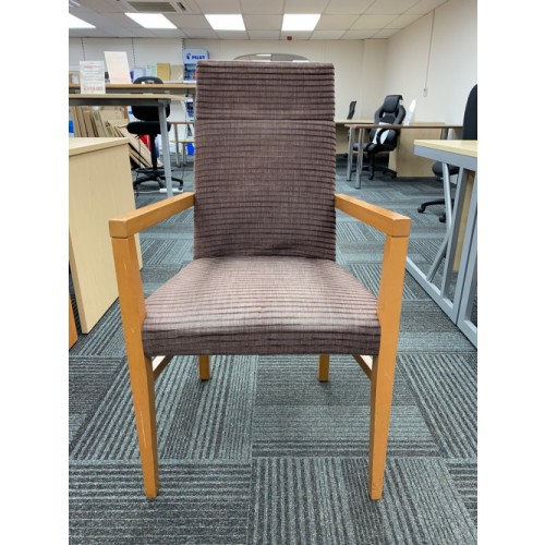 Reception/Visitor Chair, With Arms. 7 In Stock