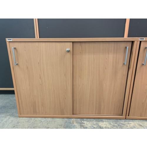 Storage Unit, In Oak Finish - 1000mm Width x 720mm High. 1 In Stock