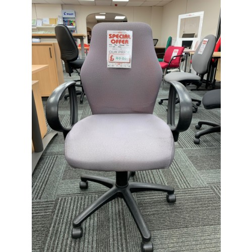 Operator Chair, With Arms. Lots In Stock