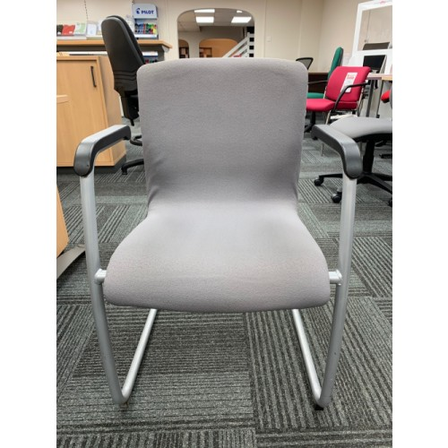 Reception/Visitor Chair, With Arms. 2 In Stock