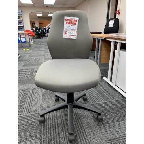 Operator Chair, No Arms. Lots In Stock