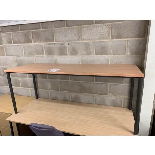 Meeting Table, In Oak Finish - 1600mm Width x 600mm Depth. 1 In Stock