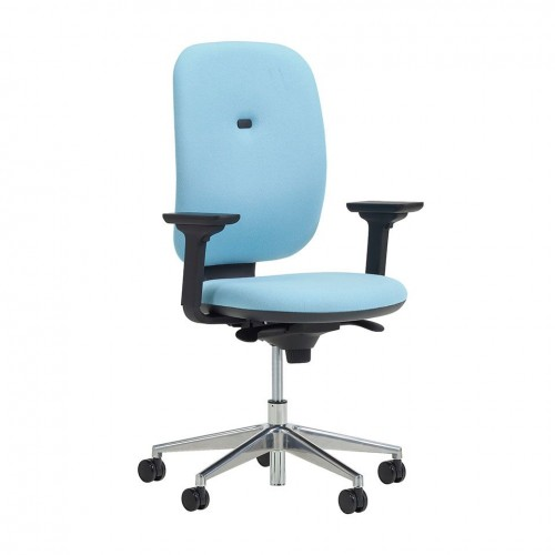 Apollo Task Chair - With Adjustable Arms & Synchro Mech
