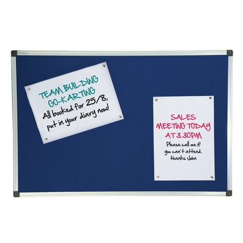 Used Noticeboard, 1200mm x 900mm. 10 In Stock