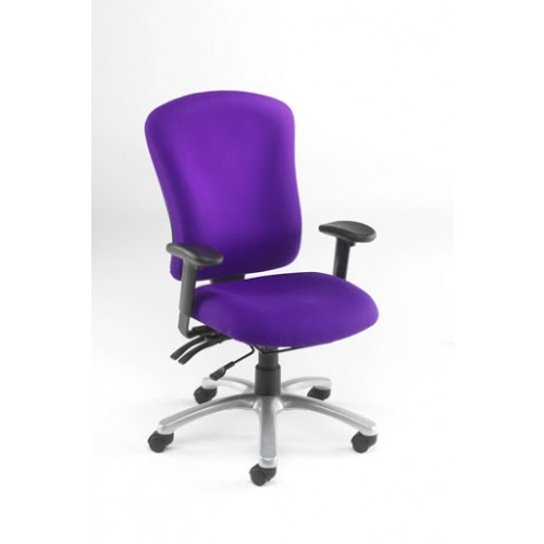 High Back 24 Hour Executive Chair. Vast Range Of Colour Fabrics Available
