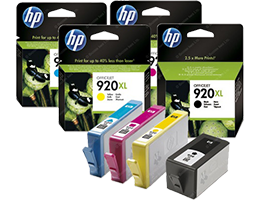 Ink and Toner Supplies Menu Header Image
