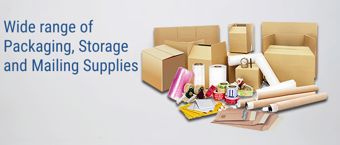 Packaging Supplies Banner