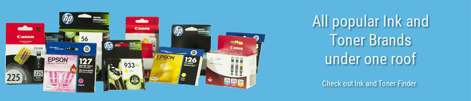 Office Ink and Toner Banner Home Page