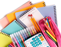 Office Stationary Products Menu Header Image