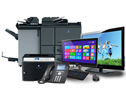 Office Technology Equipments Menu Header Image